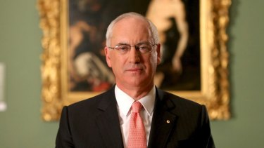 Allan Myers gave $10 million to the University of Melbourne. From next year he will be its chancellor.