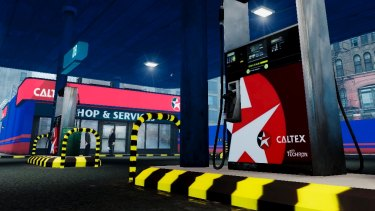 Caltex is profiting from higher sales of up-market fuel products.