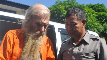In future, Australians like Robert Andrew Ellis (left), who are charged with child sex offences in Indonesia, could face execution or chemical castration.