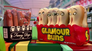 <i>Sausage Party</i>: Seth Rogen's R-rated animated film.