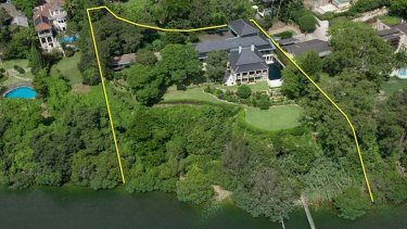 Air of mystery: Sam Guo's Windermere estate in Hunters Hill.