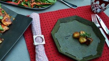 Maddison Ryder's Lettuce Eat plate.