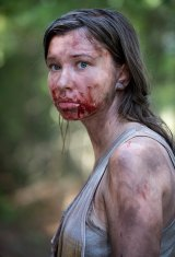 Enid (Katelyn Nacon) is almost indistinguishable from a walker after she devours a tortoise.