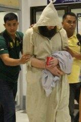 Musa Cerantonio in Manila on Friday after his arrest.
