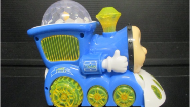 A cheap Thomas the Tank Engine toy is part of the crackdown.