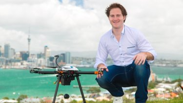 Matthew Sweeny is developing the technology to launch a commercial drone delivery service.