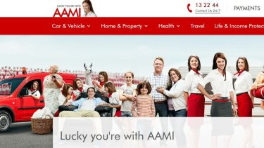 "AAMI, owned by insurance behemoth Suncorp, promises customers that it ""can bring you peace of mind and make life simpler""."
