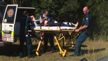 Two men survived the plane crash in the Sunshine Coast hinterland.