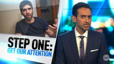 "Waleed Aly challenges the public to hijack rape advocate Daryush ""Roosh"" Valizadeh's campaign by donating to women's shelter instead."