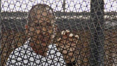 Paying the price: Peter Greste.