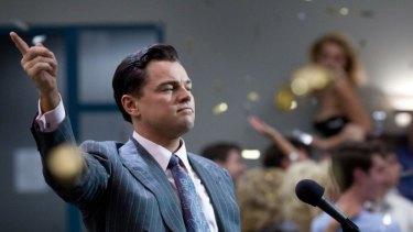 Leonardo DiCaprio portrayed Jordan Belfort in <i>The Wolf of Wall Street</i>.