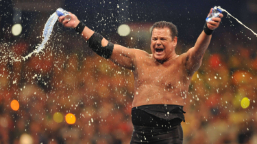 The WWE's swift response to domestic assault charges against commentator and ex-wrestler Jerry Lawler shames the AFL's non-action.