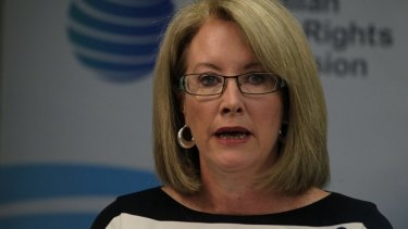 """""""No group is immune"""": Sex Discrimination Commissioner Elizabeth Broderick."""