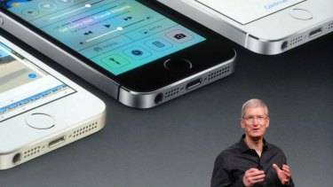 Changes: Apple CEO Tim Cook.