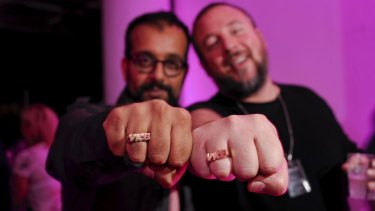 Co-founders of Vice, Shane Smith (right) and Suroosh Alvi.