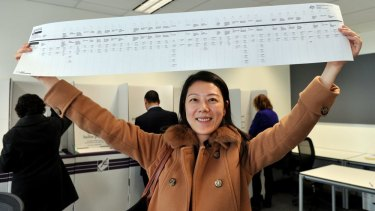 There have been concerns about the ballooning size of the ballot paper – for example, the 2013 Victorian Senate ballot paper, pictured, which was over a metre long.