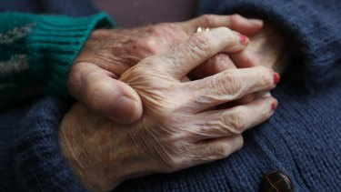 For couples coping with dementia, physical intimacy can be a source of mutual comfort.