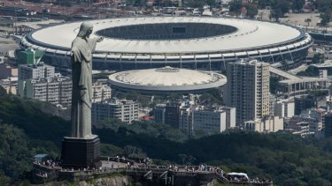 Rio de Janeiro's Maracana stadium, the site of the 'Maracanazo' in 1950. The stadium will also host the 2014 final.