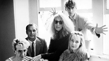 The discovery of a band, such as the Go-Betweens (pictured c.1988), is great but it often fails to give back to the musicians.