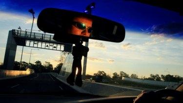 Sydney motorist Craig Fulham on the M7.