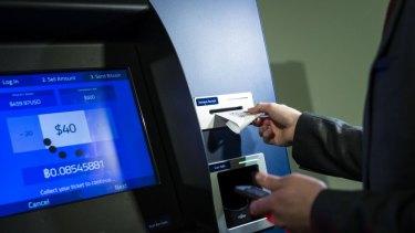 A Robocoin bitcoin ATM in Washington, DC.