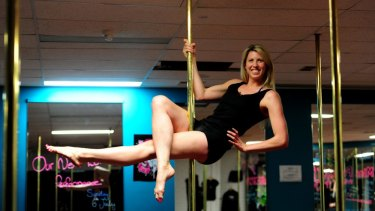 Canberra Capitals star Carly Wilson has used pole dancing to improve her core strength during the pre-season.