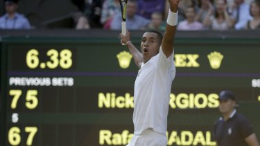Laver said Kyrgios' stunning 2014 Wimbledon upset of Rafael Nadal appeared to have contributed to outrageous shot selection at times.