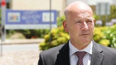 Opposition Leader John Robertson.
