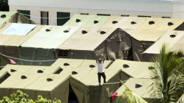 Nauru detention centre: Country breaching its international UN obligations.
