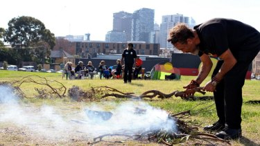 Organisers of the tent embassy say that the AHC's redevelopment plans are at odds with the nature of the site, as Aboriginal land.