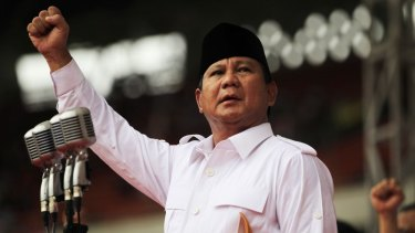"""Among Westerners who've met them both, Prabowo is someone who """"thinks like us"""" and talks like a Westerner, thanks to his education in Singapore, Britain and other places."""