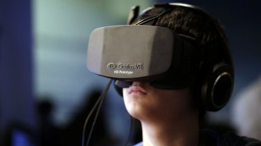 Selling up: Facebook will buy Oculus VR for $US2 billion.