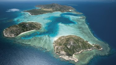 The Great Barrier Reef's Lizard Island, where 'severe' coral bleaching of corals is worst.