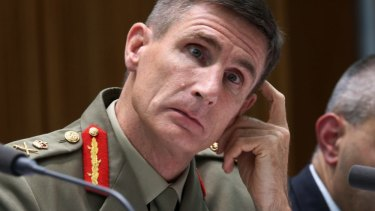 Australian Army chief Angus Campbell met with Indonesian military chief Gatot Nurmantyo earlier this year after material considered offensive was found at a Perth army base.