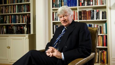 """Geoffrey Robertson says the jailing of Peter Greste is an """"outrage"""" and a breach of the guarantee of freedom of speech."""