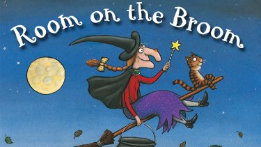 The original Julia Donaldson book, illustrated by Axel Scheffler.