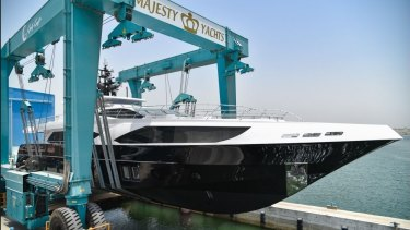 Ghost II being shipped to Sydney.