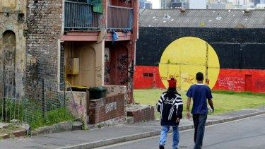 The perception that inner city suburbs like Redfern are Aboriginal hubs is increasingly at odds with reality as gentrification pushes out residents.