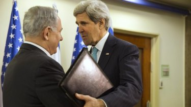 Israeli Prime Minister Benjamin Netanyahu offers no peace-deal joy to US Secretary of State John Kerry.