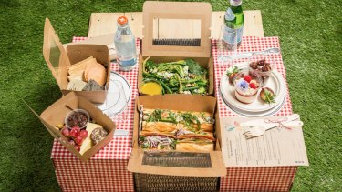 The Pop-Up Picnic by One Hundred Hospitality has become popular with people isolating at home during the coronavirus pandemic.