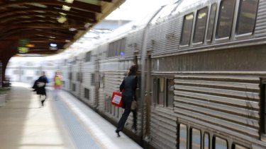Potential carve-up: Train privatisation is on the cards in Sydney.