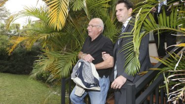 Roger Rogerson at the time of his arrest.