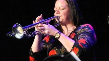 New York-based Australian trumpeter Nadje Nordhuis.