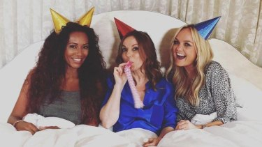 Mel B, Geri and Emma's Spice Girls much-mooted spin-off group, GEM.