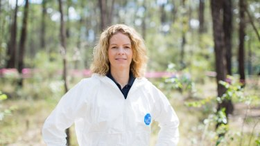 Shari Forbes, Director of Australian Facility for Taphonomic Experimental Research.