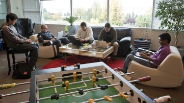 Software engineers at the Google office in Kirkland, Washington.