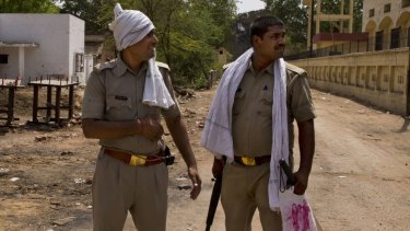 Indian police have broken up an alleged human trafficking ring.