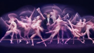 The Dance - David McAllister, 2016, by Peter Brew-Bevan, inkjet print, National Portrait Gallery, Commissioned with funds provided by The Stuart Leslie Foundation 2016