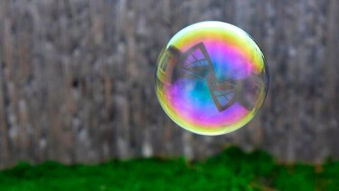 Bubbles are only apparent in hindsight,but that doesn't mean one isn't coming.