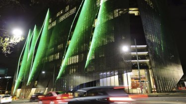 The new UTS building near Broadway.